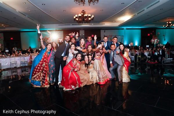 Indian wedding celebration.