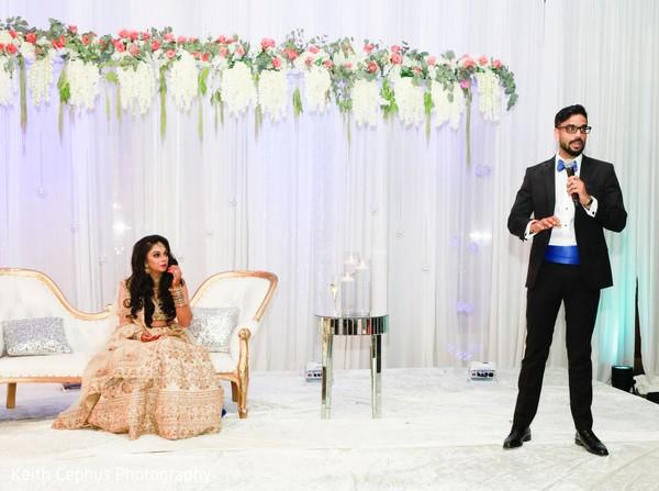 Indian groom's speech.