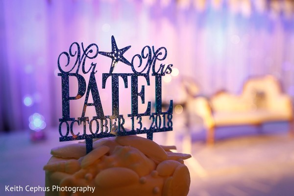 Incredible personalized cake topper.