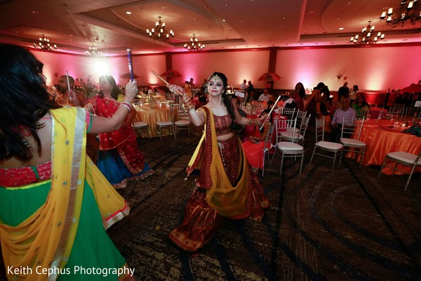 Maharani at her sangeet garba dance.