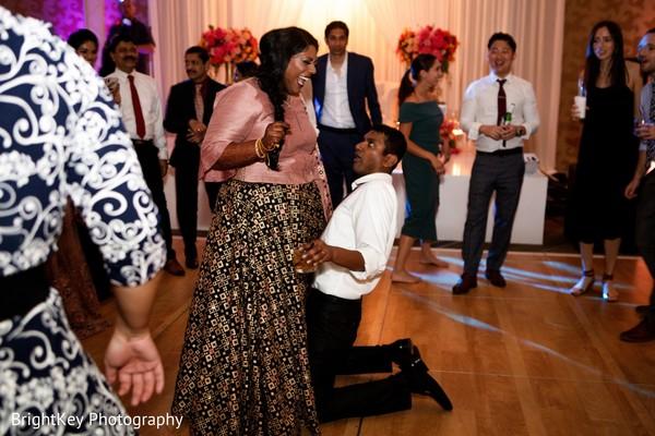 Incredible Indian couple reception dance.