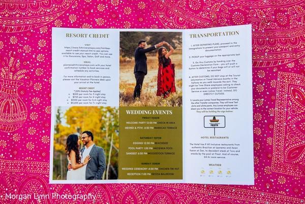 Wonderful Indian wedding brochure.