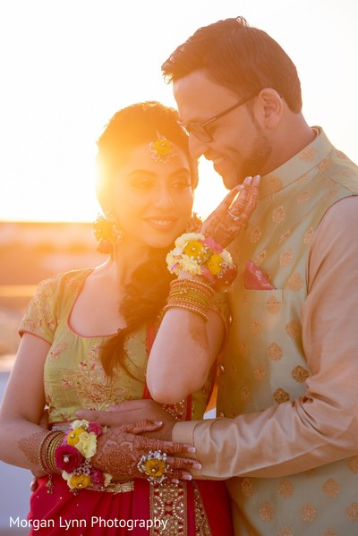 Dreamy capture of Indian couple photography.
