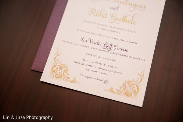 Magnificent Indian wedding invitations.