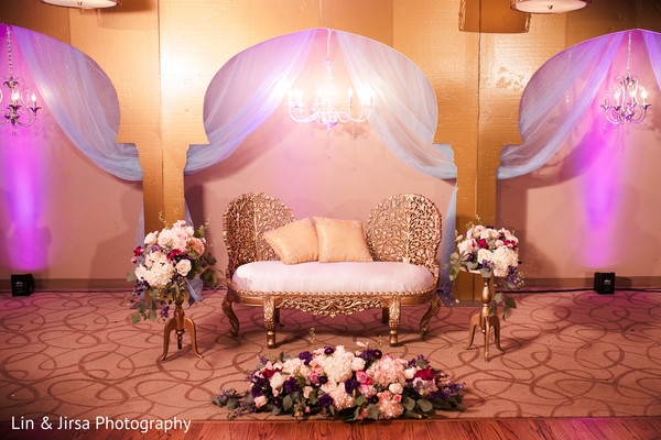 Marvelous Indian wedding stage decoration.