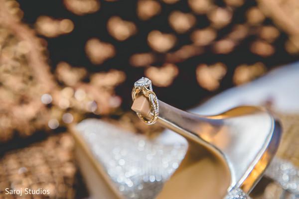 Marvelous Indian bridal engagement ring capture.