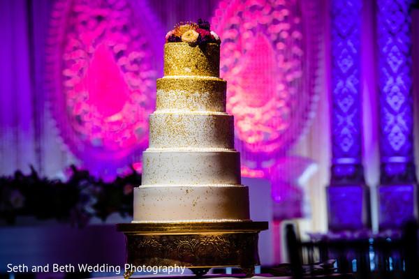 Incredible Indian wedding cake.