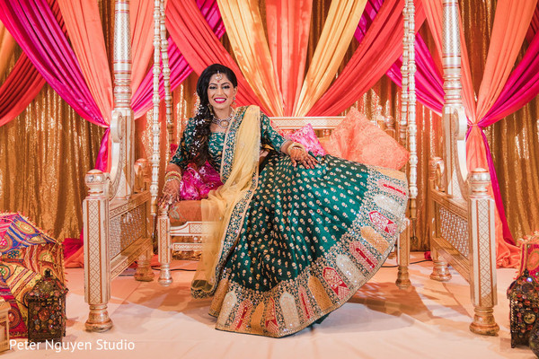 Indian bride looking spectacular