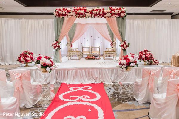Indian wedding stage design