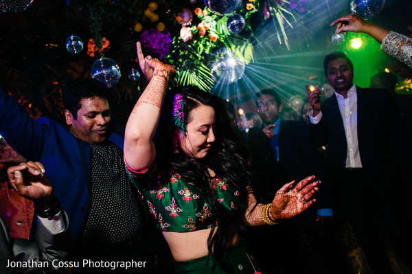 Maharani rocking the dancefloor.
