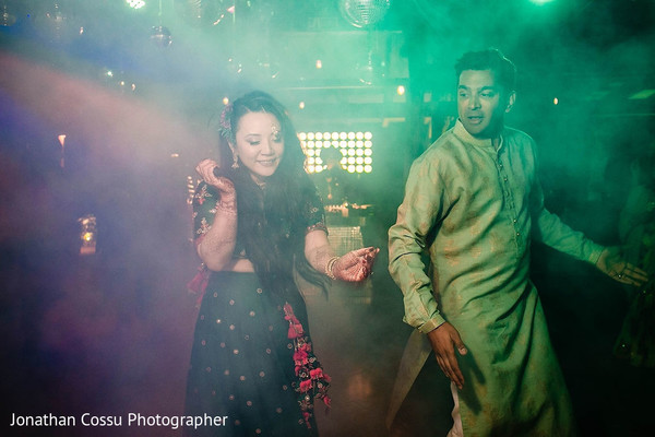 Dreamy maharani and rajah's sangeet dance.