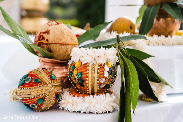 Incredible Indian wedding coconut decoration for ceremony rituals