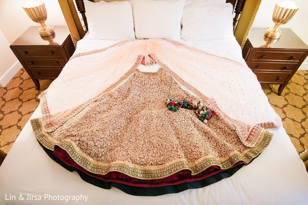 Stunning bridal lehenga.