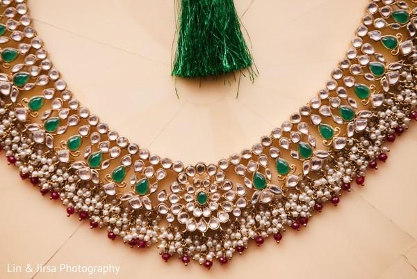 Bridal Kundan necklace.