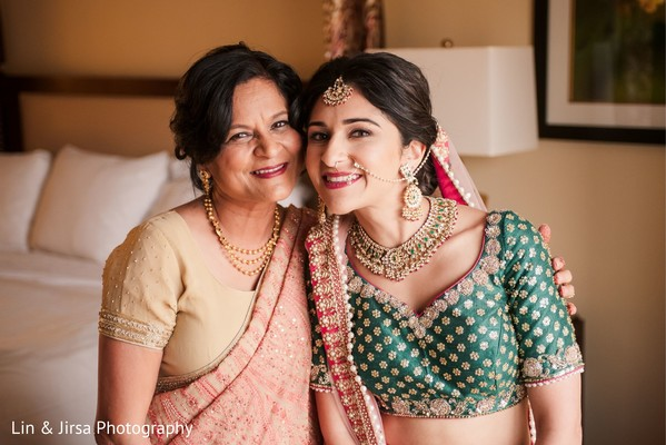 Insanely cute Indian bride and mother.