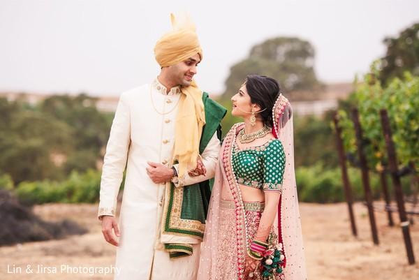 Gorgeous indian couple.