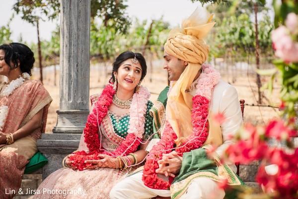 Most romantic Indian wedding ceremony.