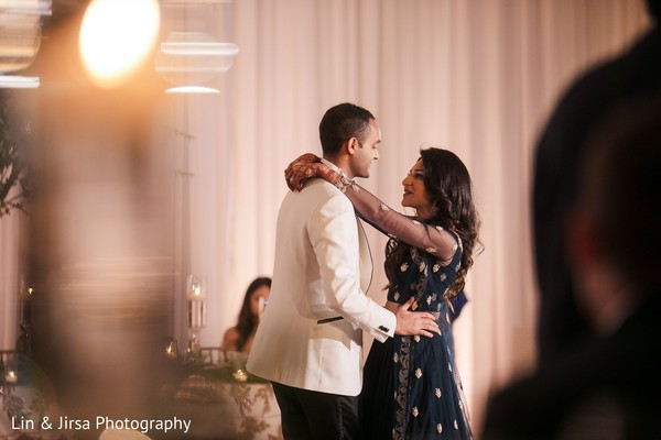 Sweetest Indian bride and groom dance.