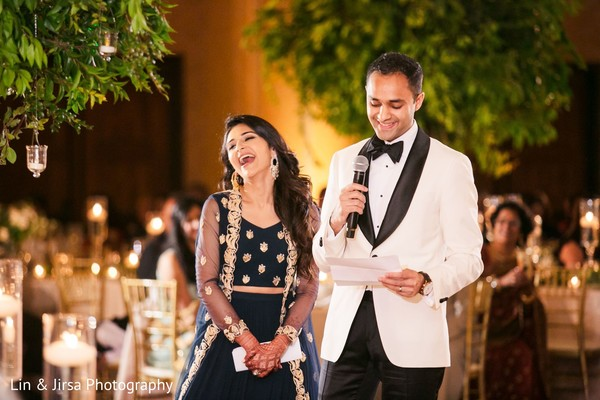 Indian bride and groom speech    Photo 233859