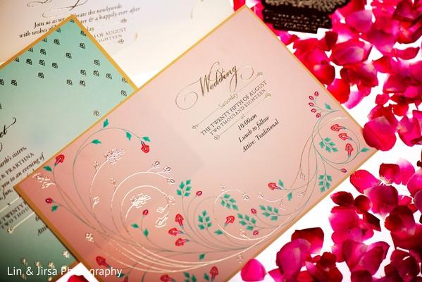 Creative Indian wedding invitations.