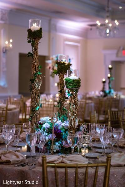 Floral arrangement of the gala