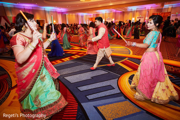 Spectacular Garba dance.