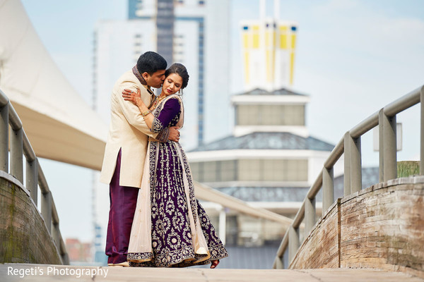 Urban Indian wedding  photography.
