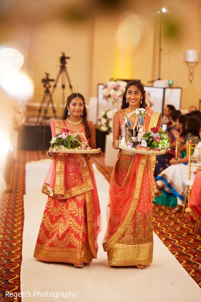 Sweet Indian bridal party.