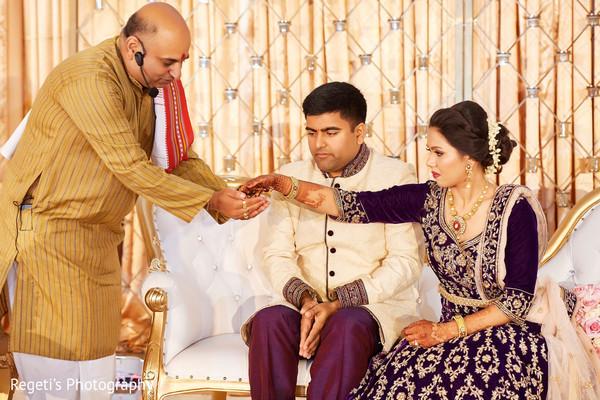 Amazingly Heartfelt Indian bride and groom.