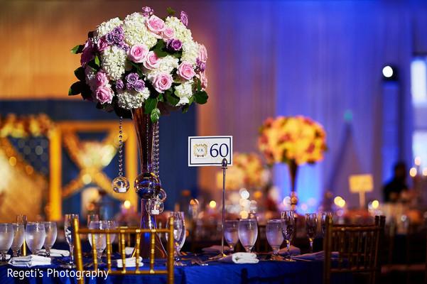 Stunning floral centerpiece.