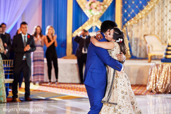 Enchanting indian couple