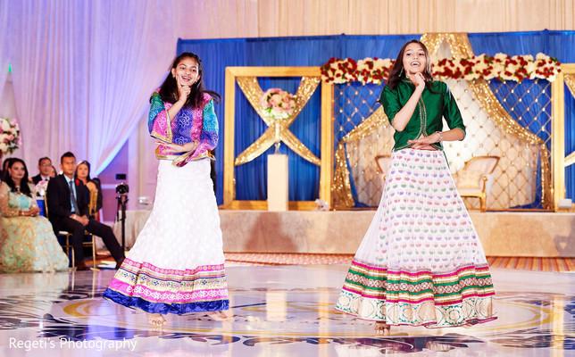 Enchanting wedding reception choreography.
