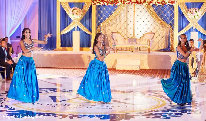 Beautiful Indian wedding choreography.