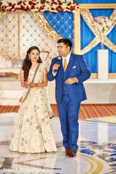 Indian bride and groom speech    Photo 234146