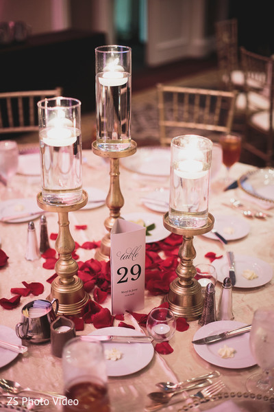 Dreamy wedding centerpieces.