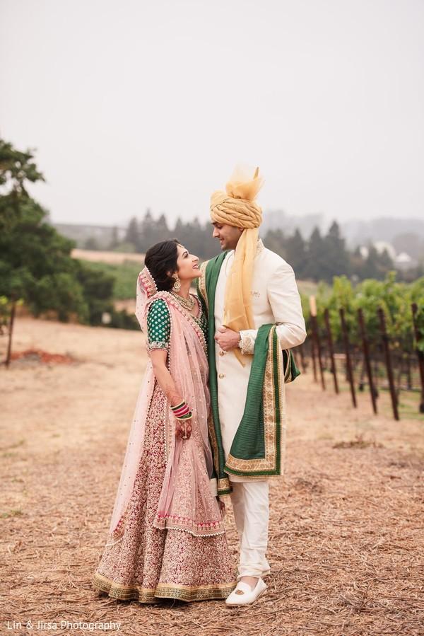 Amazing Indian bide and groom capture.