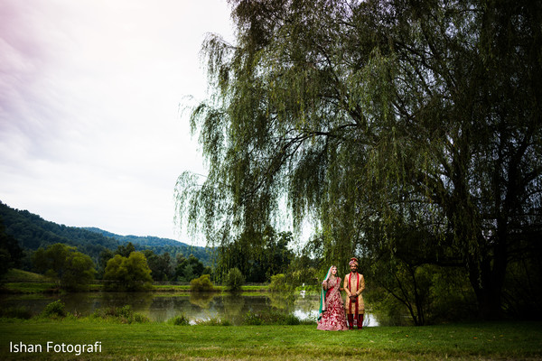 Creative Indian wedding photo shoot.