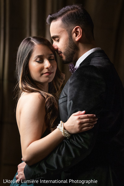 Indian lovebirds posing for pictures