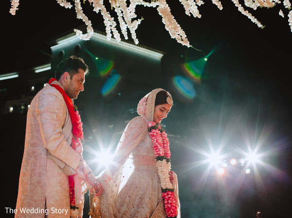 Dreamy Indian wedding ceremony capture.