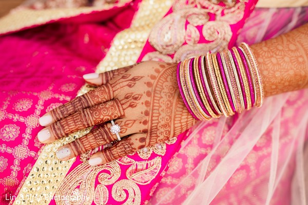 See this beautiful Indian bridal engagement ring.