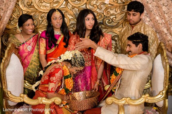 Indian groom with Maharani