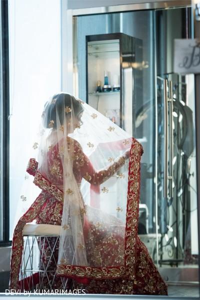 Indian bride looking spectacular