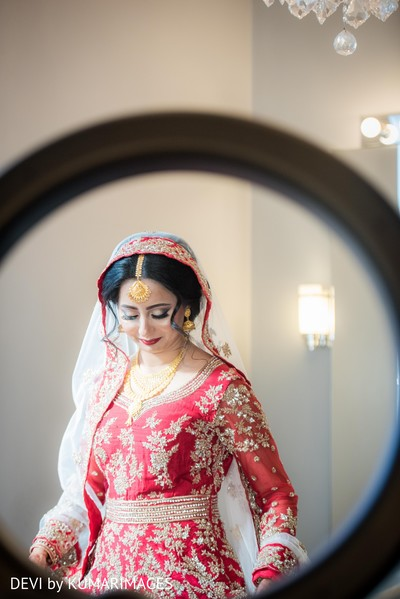 Indian bride looking lovely