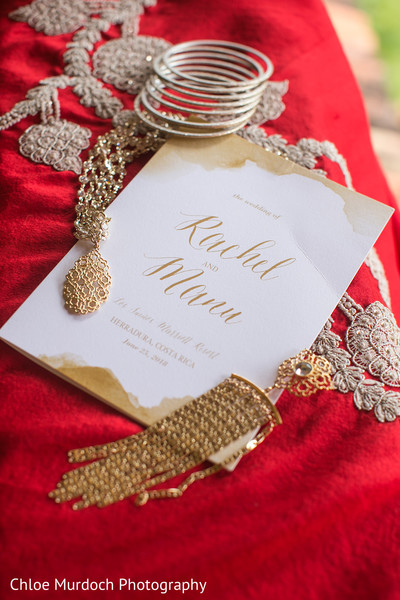 Marvelous Indian bridal pre-wedding jewelry.