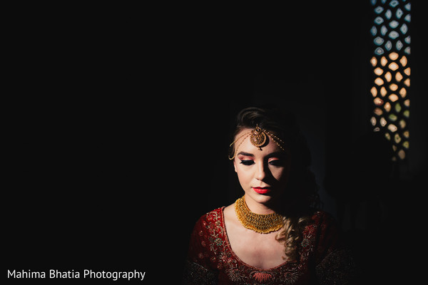 Mesmerizing Indian bride portrait