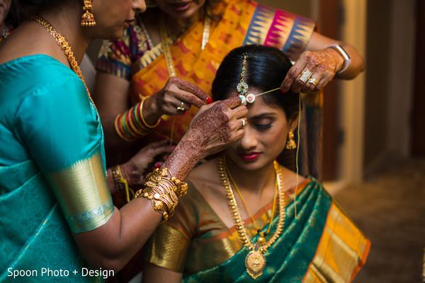 Indian bride rite.