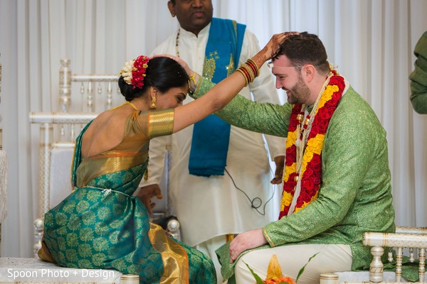 Sweet Indian wedding ceremony.