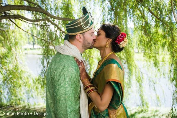 Inspiring Indian wedding portrait.