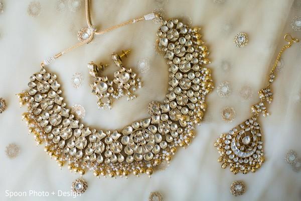 Exquisite Indian bride jewelry.