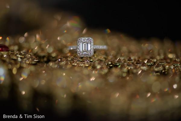 Incredible maharani's engagement ring.